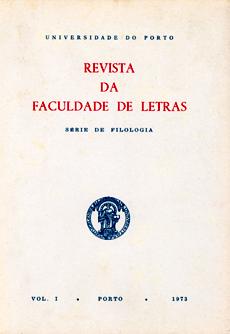 Revista da Faculdade de Letras: série de Filologia