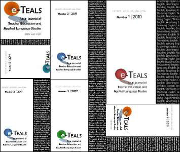 e-TEALS : an e-journal of Teacher Education and Applied Language Studies